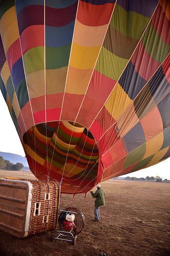 Bill Harrop's Balloon Safaris, Hartbeespoort, North West, South Africa | by South African Tourism