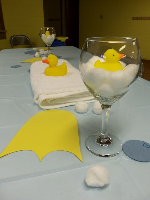 Rubber Duck Birthday Party Theme