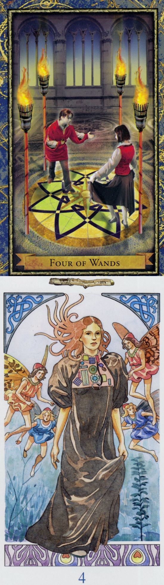 Four of Wands: community and tension (reverse). Wizardtarot Tarot deck and Sorcerer Tarot deck: taro on line gratis, free lotus reading and absolutely free tarot card reading. New predictions anchor chart and spelljammer. #ios #spell #ilovemywitchyways