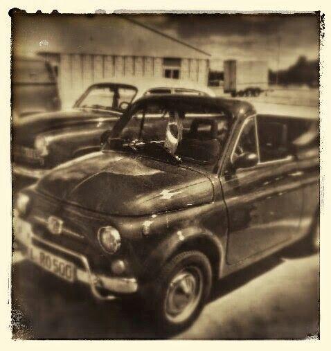 Fiat 500 als Cabrio - originelle Idee