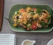Warm Chicken, Pumpkin and Couscous Salad