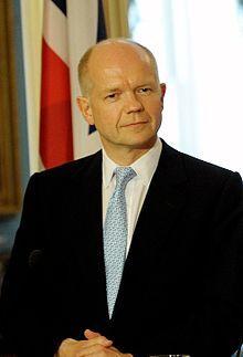 William Hague MP for Richmond (Yorks)