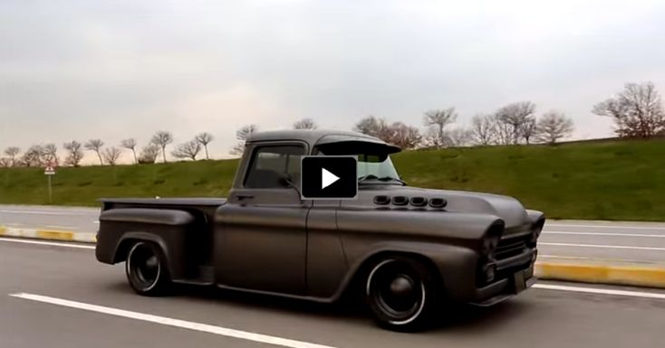 Bad to the Bone '58 Chevy Apache Custom