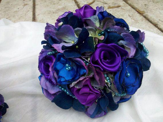 Bridesmaid Bouquet Package Custom Pearls 8 by AfternoonDelite, $85.00