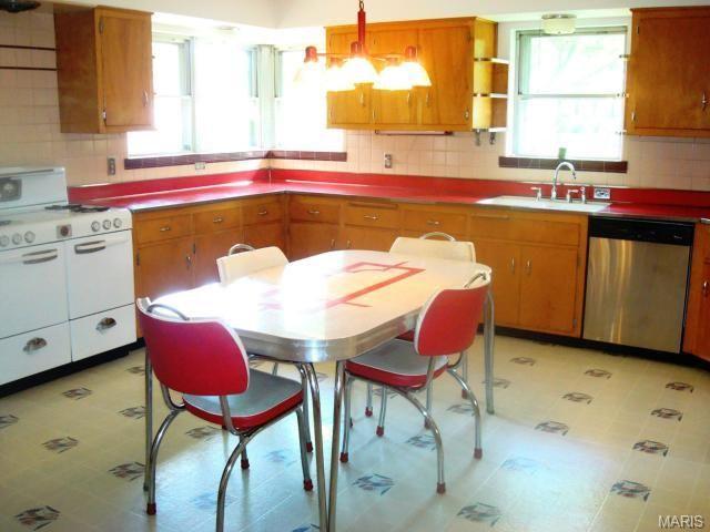 Mid Century Ranch Kitchen