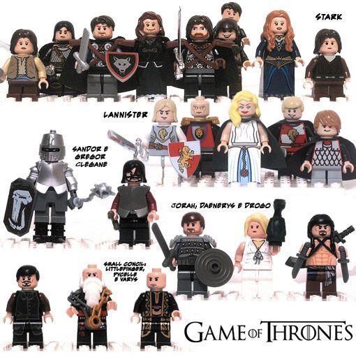 Já imaginou se a LEGO tivesse a licença para produzir sets da mega série de livros/tv A Song of Ice and Fire de George R. R. Martin? Já que a possibilidade disto acontecer é pequena, o designer de games Sam Beattie resolveu criar sua própria versão de Game of Thrones LEGO. Sam customizou várias personagens…
