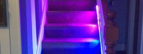 NeoPixel Temperature Stair Lights - Raspberry Pi https://www.raspberrypi.org/blog/neopixel-temperature-stair-lights/?utm_campaign=crowdfire&utm_content=crowdfire&utm_medium=social&utm_source=pinterest