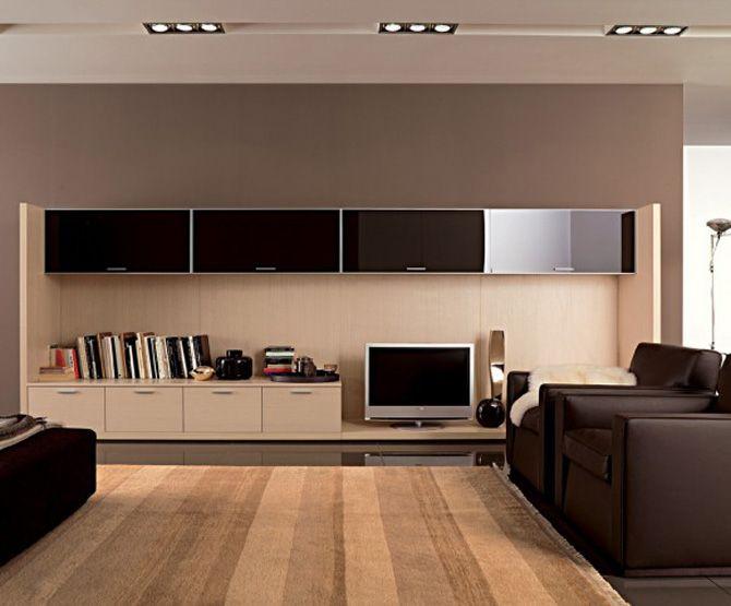 contemporary living room interior lighting - Google Search