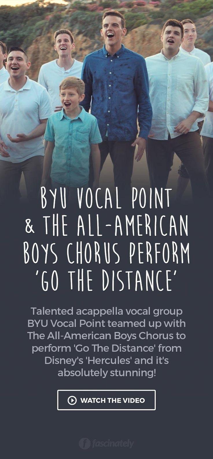 BYU Vocal Point & The All-American Boys Chorus Perform 'Go…