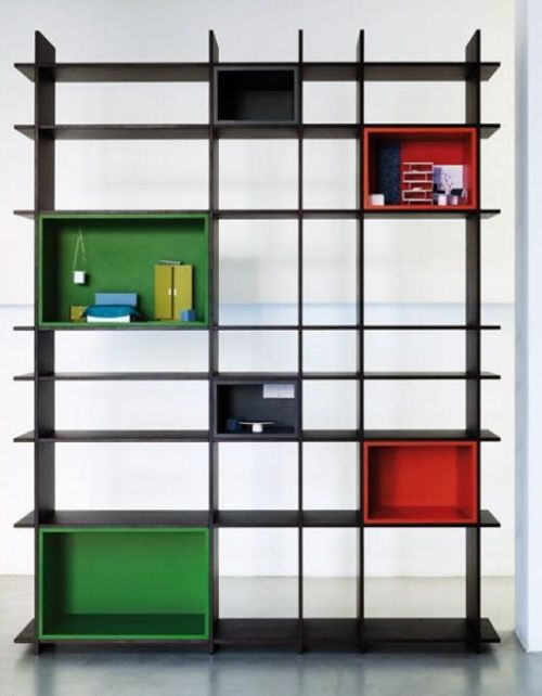 Art deco shelving and bookcases