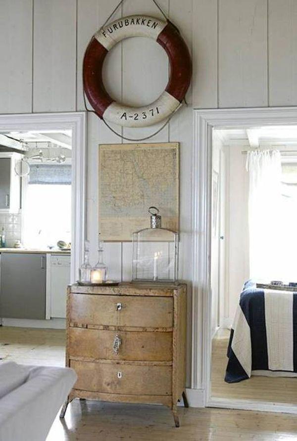 Vintage Nautical Decor   Home style   Pinterest  Vintage Nautica...