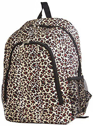 World Traveler Leopard 16-inch Multipurpose Backpack World Traveler http://smile.amazon.com/dp/B00QAM0IRW/ref=cm_sw_r_pi_dp_LgwZub1P9C6S8