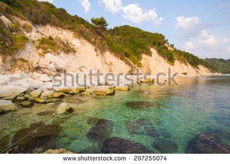 The beach of Portonovo on the Conero Promontory in Marche, on the Adriatic Sea. #Portonovo #Conero #Sea #Mare #Marche #Baia #Beach #Summer #Holidays #Park #Landscape