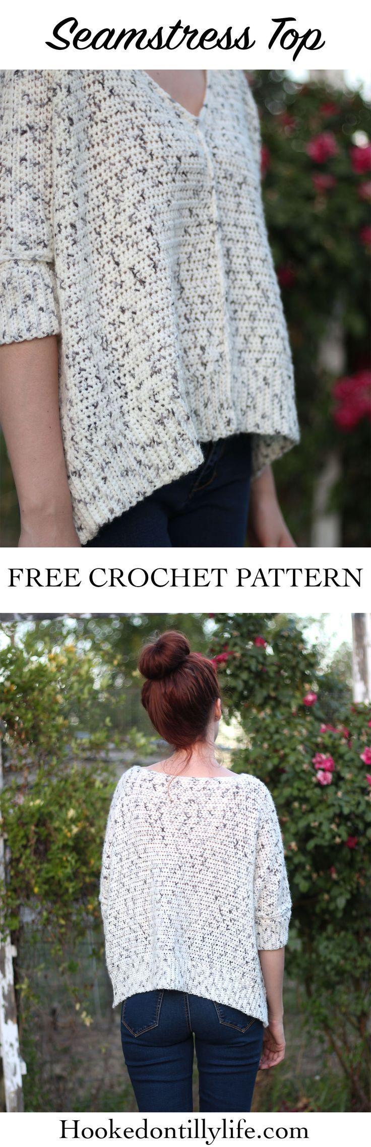 The Seamstress Top – Free Crochet Pattern