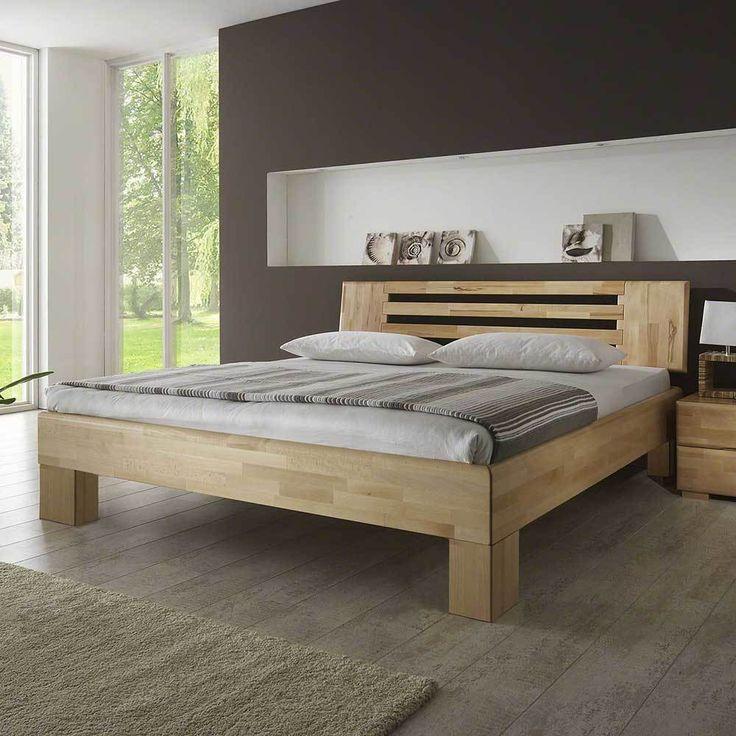 Die besten 25+ Massivholzbett Ideen auf Pinterest - zirbenholz schlafzimmer modern