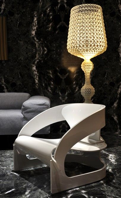Ergonomic armchair by Kartell (Photo: Edoardo Campanale/Gizmag.com)