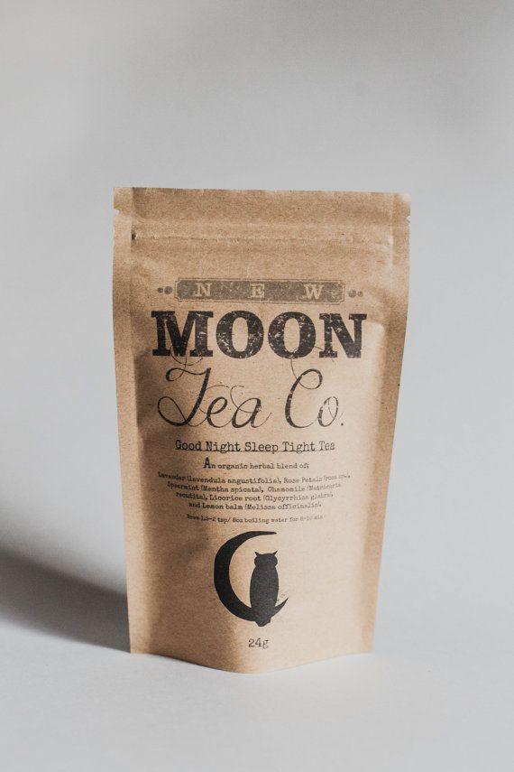 Goodnight Sleep Tight Tea  organic loose leaf by NewMoonTeaCo