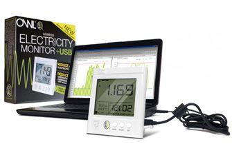 Owl+USB wireless electricity monitor - see your energy usage in cost, kWh and carbon emissions, then download to your PC or laptop for further analysis. A really important step to saving energy at home it to understand how you are using it. £40.99