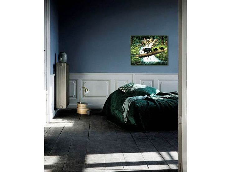 Картина по номерам, paint by numbers, раскраска по номерам, купить картину по номерам, Москва, картина «Шествие медведей» - Zvetnoe.ru - раскраски по номерам, картины по номерам