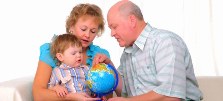 Barna utsatt for passiv røyking hos besteforeldre