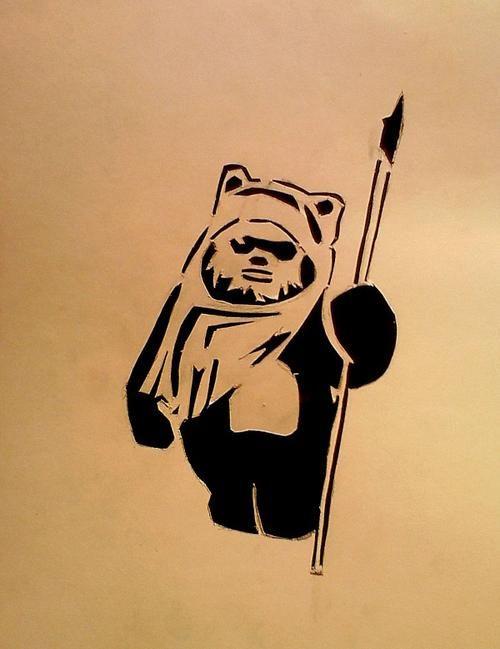 stencil star wars - Buscar con Google