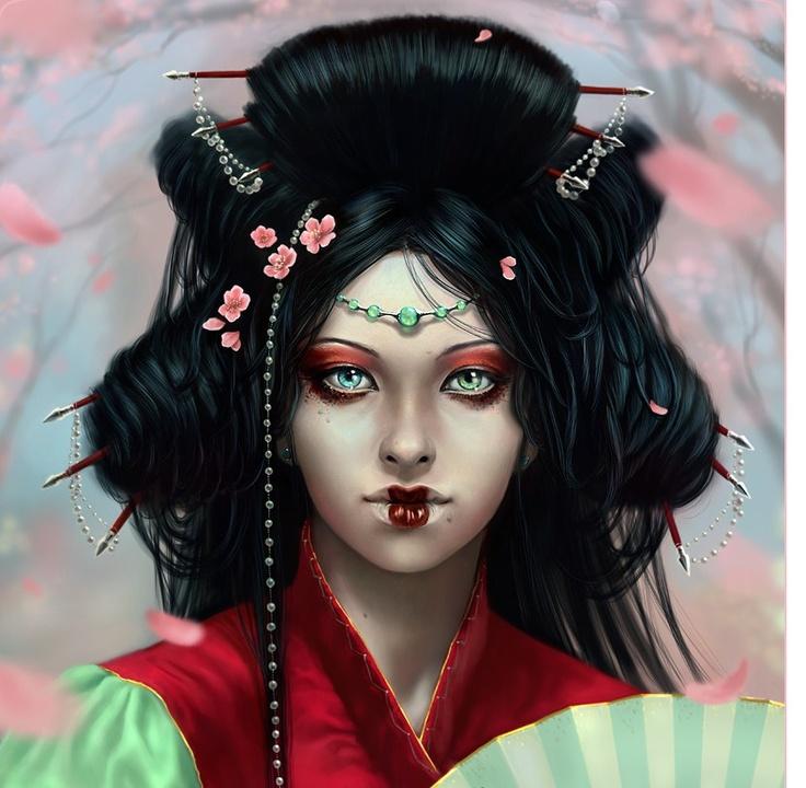 geisha hairstyle step by step geisha hairstyle tutorial 86 ...