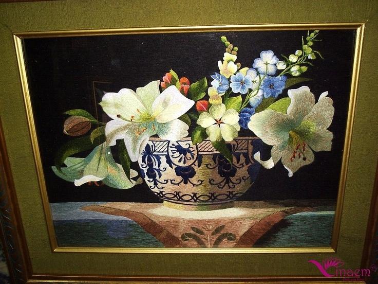 Vietnam hand Art  embroidery Picture- a10 http://vinaem.vn/
