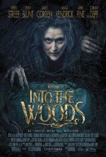 Into the Woods (2014) A witch conspires to teach important lessons to various characters of popular children's stories including Little Red Riding Hood, Cinderella, Jack and the Beanstalk and Rapunzel.