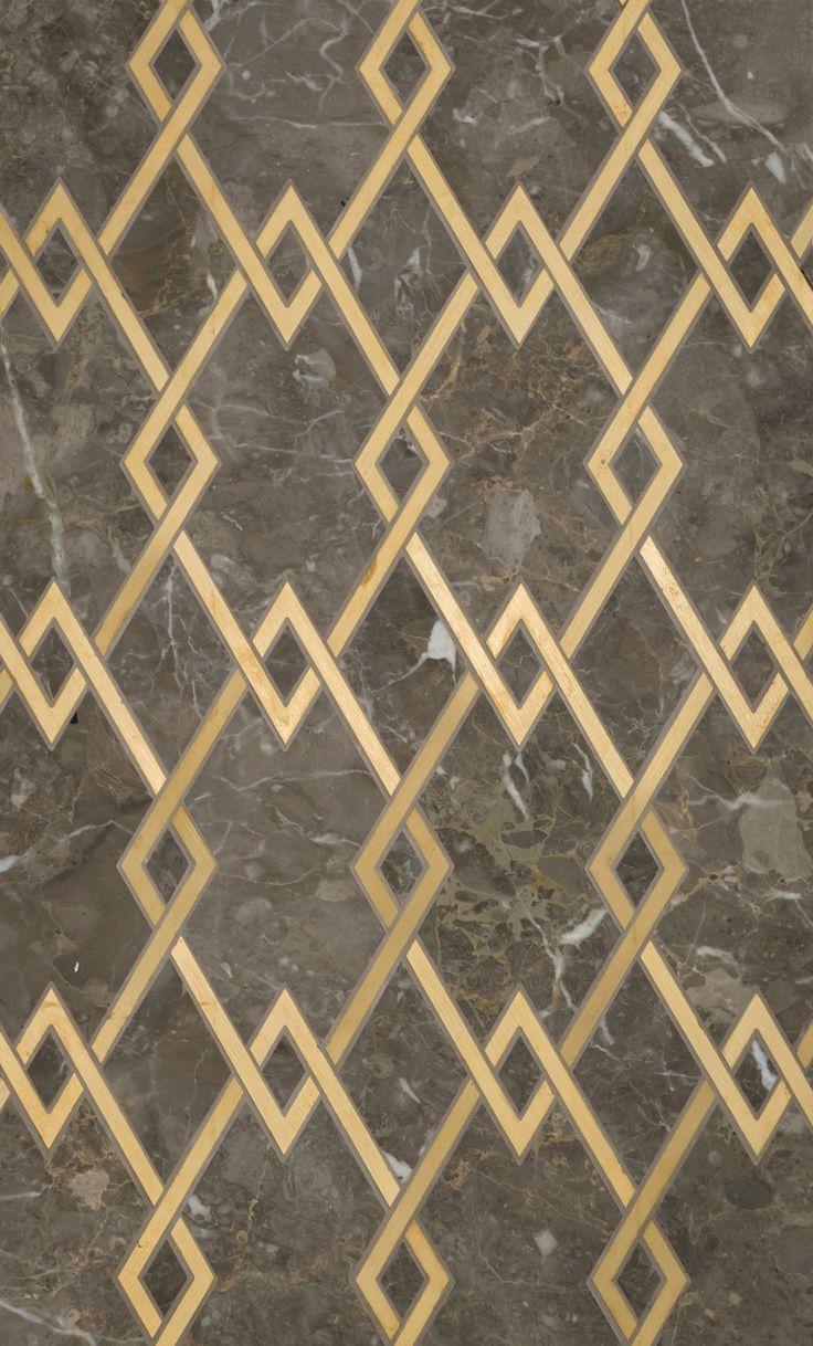 Zurich Petite Water Jet Mosaic by Mosaque Surface. Through Renaissance  Tile and Bath. Floor PatternsZurichMarble ...