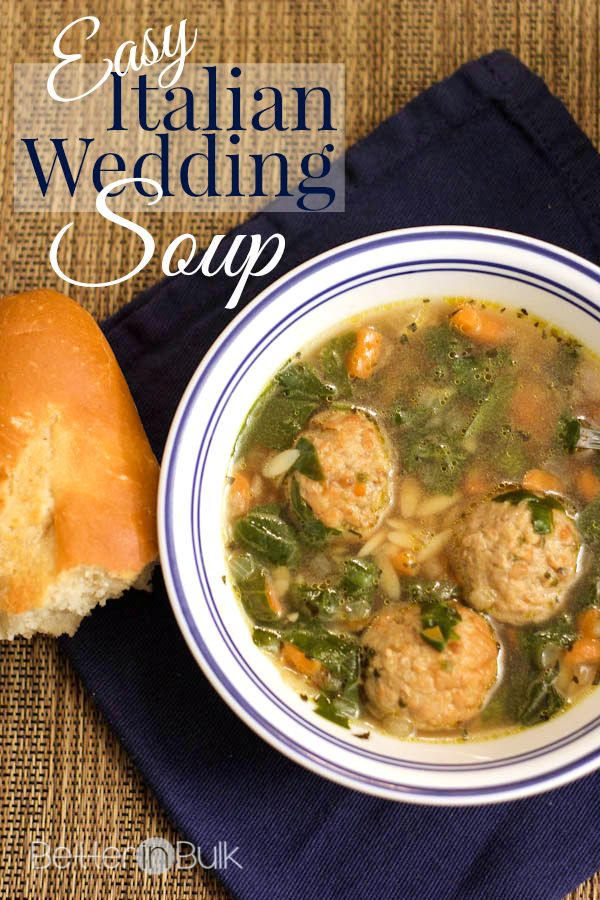 My family is hooked on this easy Italian wedding soup made with Johnsonville meatballs. Enjoy Italian restaurant quality soup at home!