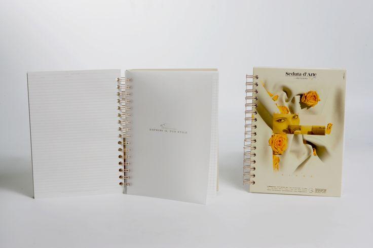 Corporate Identity for the new brand: Seduta d'Arte. Art director: Mauro Giammarini Graphic design: Mauro Giammarini Styling and Art work: Patrizia Laquale Photo: D. Barile