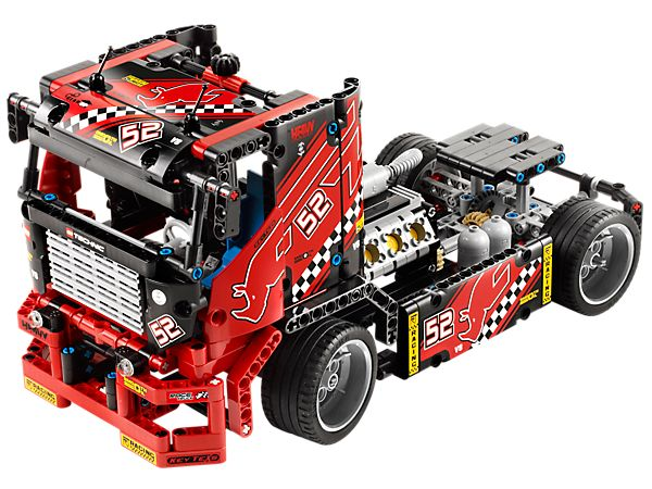 Get ready for some high-speed racing with the LEGO® Technic Race Truck!
