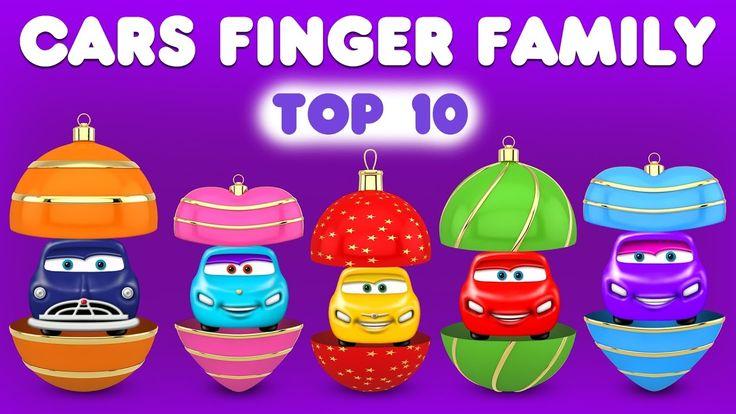 Cars Finger Family Song | Top 10 Finger Family Songs | Daddy Finger Rhyme