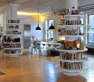 Bookcase idea if we end up with a home with columns