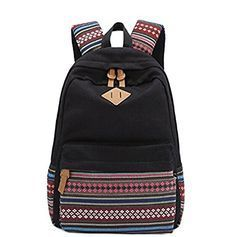 Unisex Fashionable Canvas Zip Bohemia Boho Style Backpack School College Laptop Bag for Teens Girls Boys Students, Black GBTZ http://www.amazon.com/dp/B00M7YADQS/ref=cm_sw_r_pi_dp_3GWKvb0M6VPJQ - sale leather bags, leather bags online, small side bags *ad