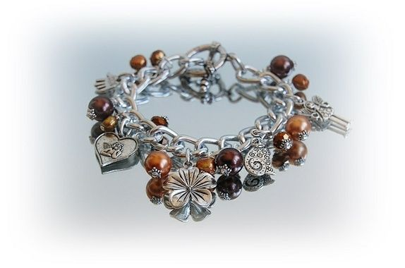 Eplabiter -  Bracelet with charms Charms Armbånd http://epla.no/shops/mona-lisa/