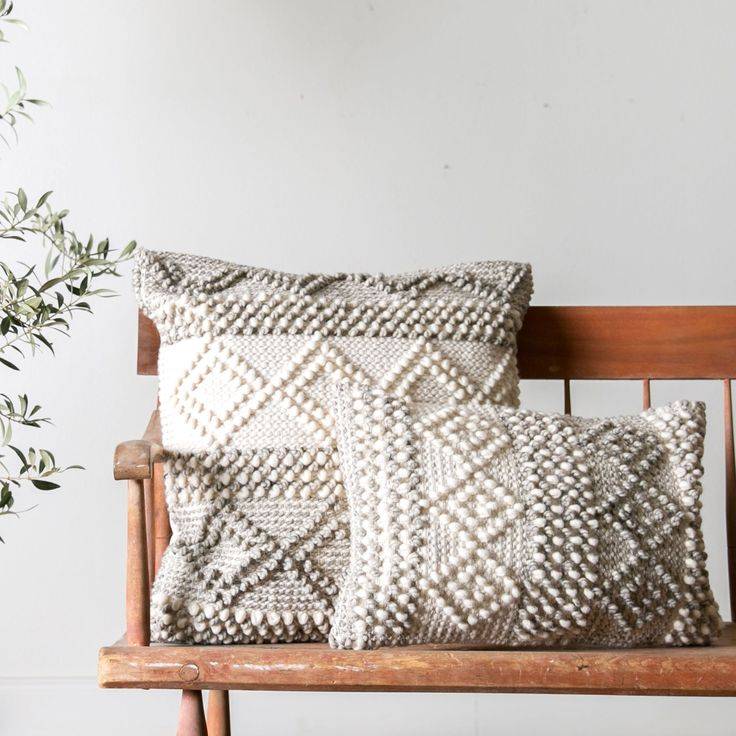 Joslin Pillow – Magnolia Market, maybe try to crochet something like this