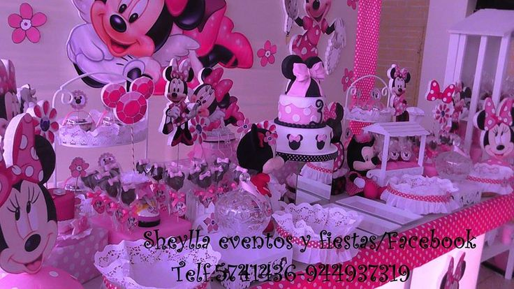 Decoracion Minnie Bebe ~ Decoracion De Minnie Bebe on Pinterest  Fiestas, Decoracion De Minnie
