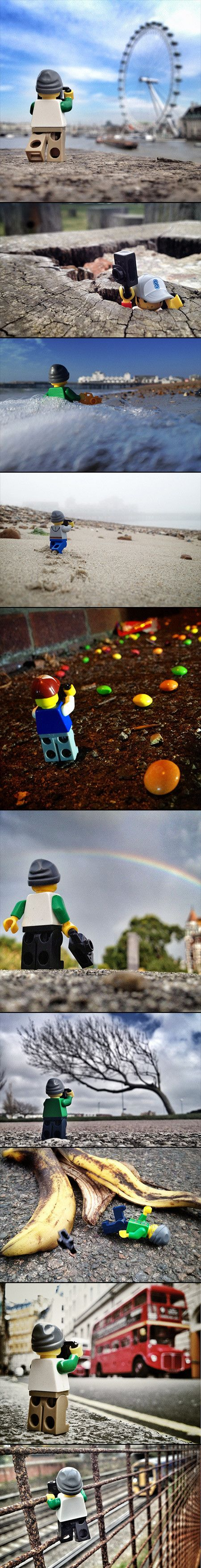 10 Creative Images That Document the Life of a LEGO Photographer - TechEBlog