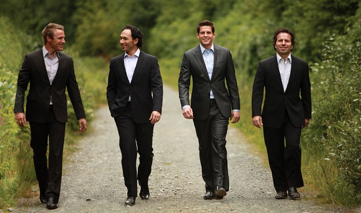 The Canadian Tenors - Fraser, Victor, Clifton, Remi
