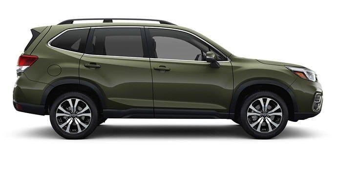2019 Subaru Forester Jasper Green Metallic Subaru Forester Subaru Subaru Models