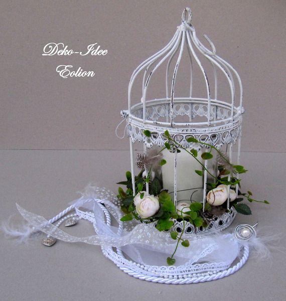 hochzeitsgeschenk vogelk fig von deko idee eolion auf vogelk fig dekorieren. Black Bedroom Furniture Sets. Home Design Ideas