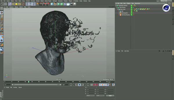 Using procedural methods in Cinema 4D, Using procedural methods in Cinema 4D for Pause Fest's motion response, Brett Morris, MAXON, Cinema 4D, IBC, IBC 2016, Presentation, 3D, Animation, Motion Graphics, Brett Morris, Pause Fest, X-Particles, Octane