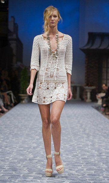 Muito, muito lindo.Outstanding Crochet