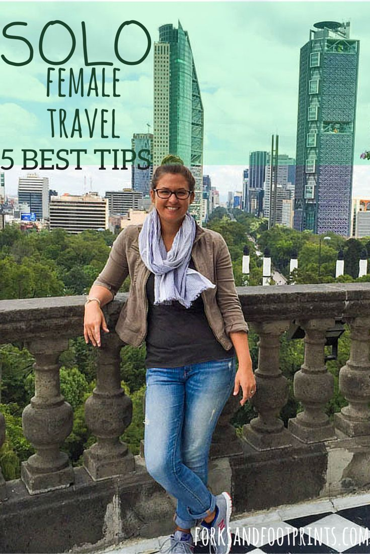 Traveling alone can be intimidating for people getting ready to set off on an adventure, for women it can seem downright scary, but with a few key tips, solo female travel can be the best thing you ever do for yourself.    ForksAndFootprints.com