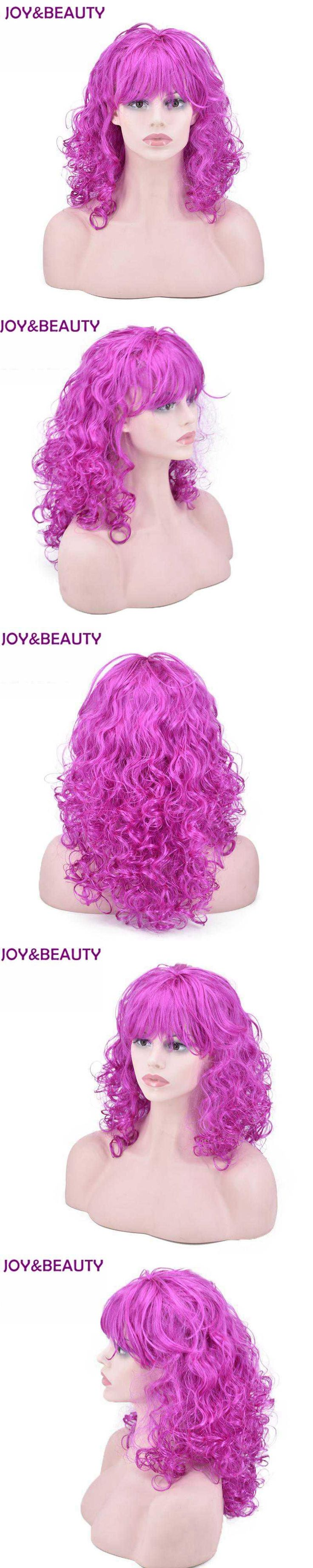JOY&BEAUTY Synthetic Hair Body Wave Women Wig Halloween Masquerade Cosplay Stage Show Costume Party Wig