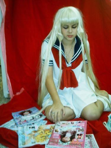 "COSPLAY CHII UNIFORME JAPONES SERA FUKU - FOTO 1 : ""Hideki comprou revistas pra Chii... Chii vai ler..."" cosplayer: Marina-chan http://www.fotolog.com/s2__moonlight | h_sama"