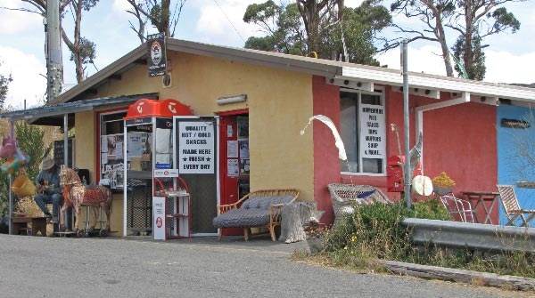 Bruny Island Ferry Terminal - Roberts Point Kiosk. Article and photo for Think Tasmania.