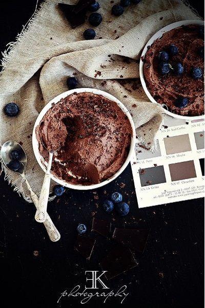 DIY Anleitung: Avocado Mousse au Chocolat, vegan // choclate recipe via DaWanda.com