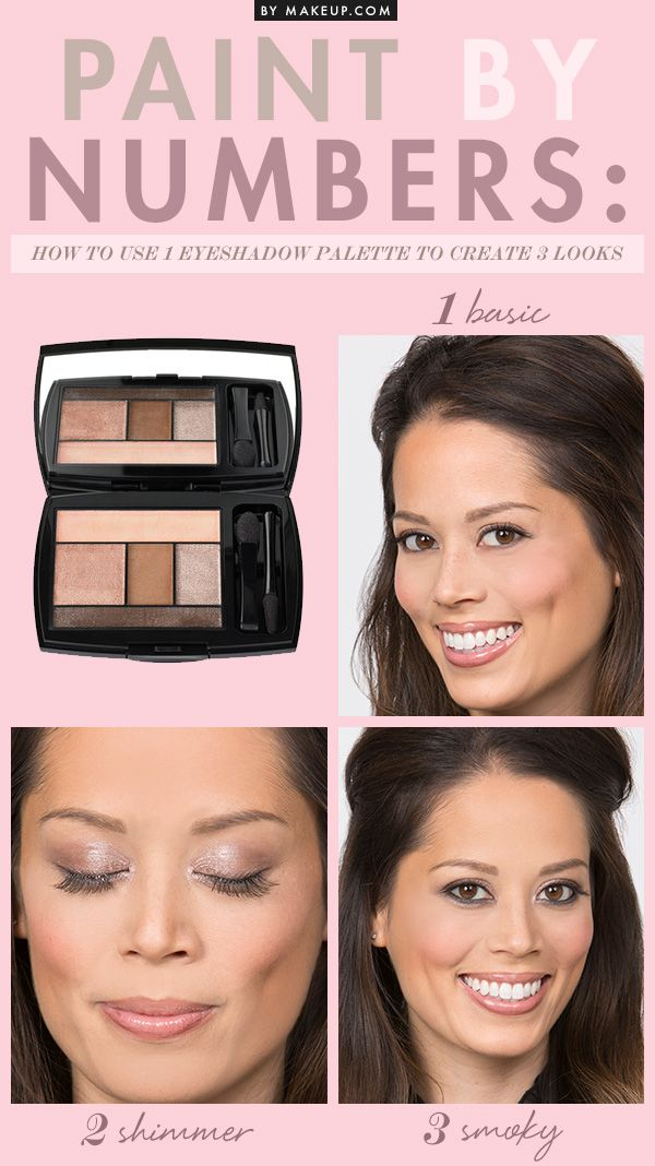 1 eye shadow palette, 3 different makeup looks. Yes, it's possible! We'll show you how to get the most out of your eye makeup palettes with these tips and tutorials.